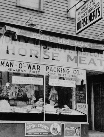 Ad: Horse Meat During World War II Tragedies and Triumphs American History Social Studies World War II