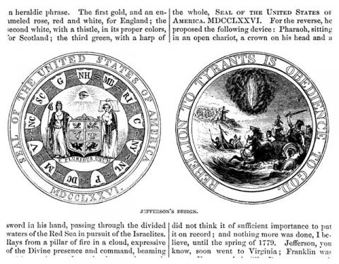 Proposed Great Seal of the United States