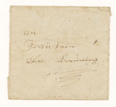 Letter to Eleonore von Beuning from Beethoven