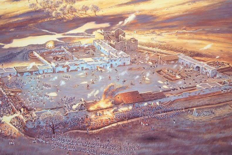 Alamo, The - THE ALAMO BATTLE