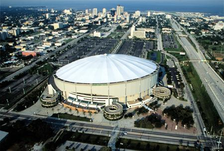 Tropicana Field Stadium, St. Petersburg, Florida Social Studies Sports Disasters