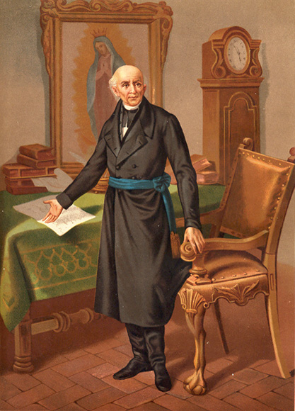 Father of Mexican Independence - Miguel Hidalgo y Costilla