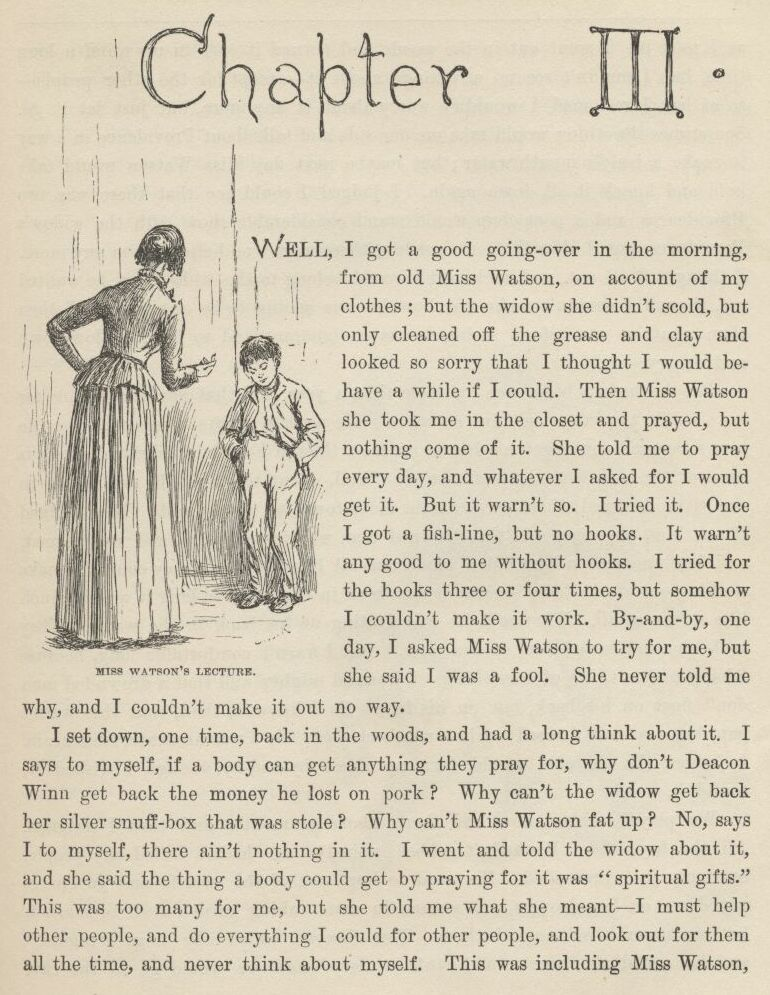 The adventures of tom sawyer research