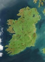 Ireland Seen from Space
