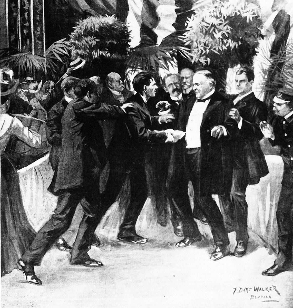 President McKinley - Assassination - A SHOOTING IN BUFFALO