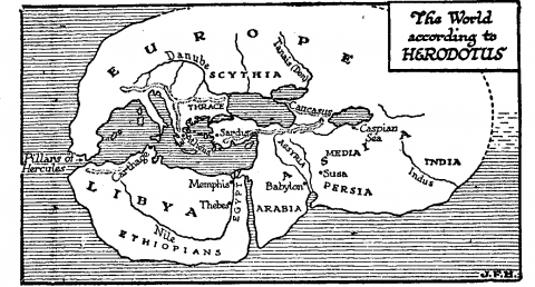 The World According to Herodotus Ancient Places and/or Civilizations Famous Historical Events Geography World History