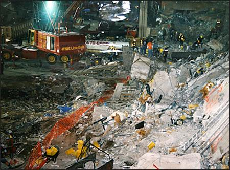 World Trade Center Bombing in 1993 (Illustration) American History Crimes and Criminals Disasters Famous Historical Events