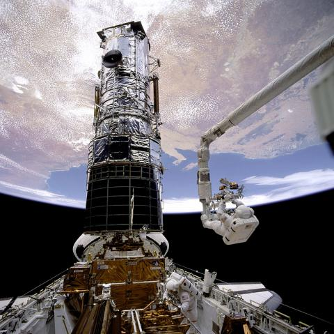 Space Shuttle Endeavour Docked with Hubble Tragedies and Triumphs American History Famous Historical Events Aviation & Space Exploration STEM