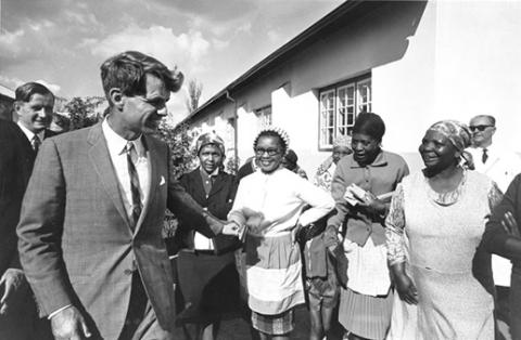 Bobby Kennedy - Meeting People of Sowetto The Kennedys American History Biographies Civil Rights Famous People Social Studies