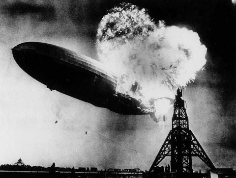 Hindenburg (Illustration) American History Awesome Radio - Narrated Stories Famous Historical Events Famous People Geography STEM World History Social Studies Disasters