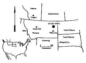 Montana - Location of Hell Creek Formation American History Famous Historical Events Social Studies STEM Geography