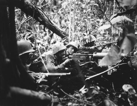 Cape Gloucester - Marine Machine Gunners American History Social Studies World War II Tragedies and Triumphs