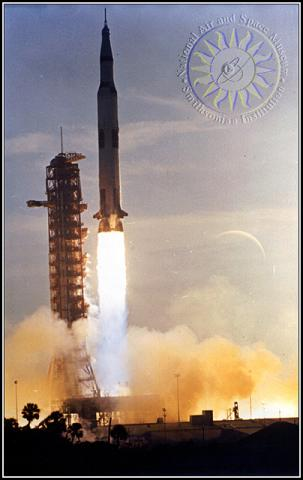 Saturn V - Launch Photo American History Aviation & Space Exploration STEM Famous Historical Events