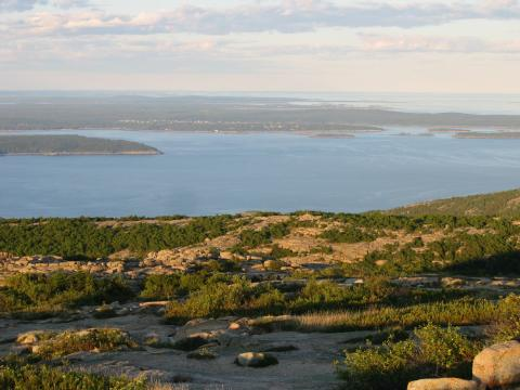 Mount Desert Island-View from Cadillac Mountain