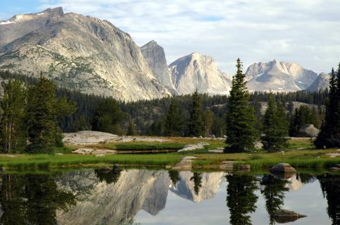 Wind River Range Beauty in Wyoming