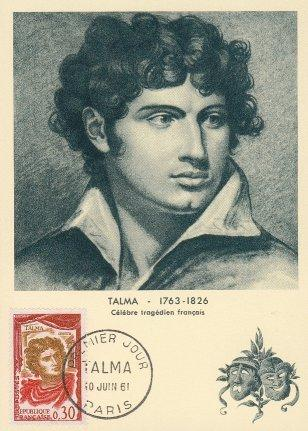 French Actor, Talma, with Cape Named After Him
