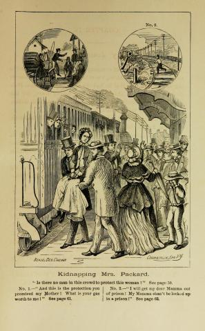 Illustration from Elizabeth Packard-Son Chases Train