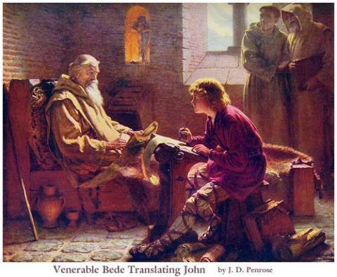 Venerable Bede Philosophy Social Studies Biographies Disasters