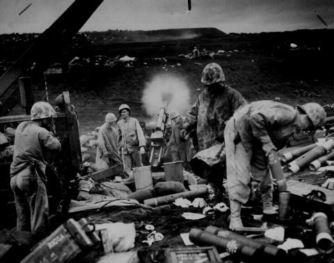Chaos During the Battle for Iwo Jima