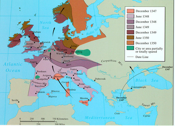 the black death devastation of 14th century europe Warm weather in asia may have spurred black death outbreaks in europe an outbreak caused massive amounts of death and devastation in the 14th century.