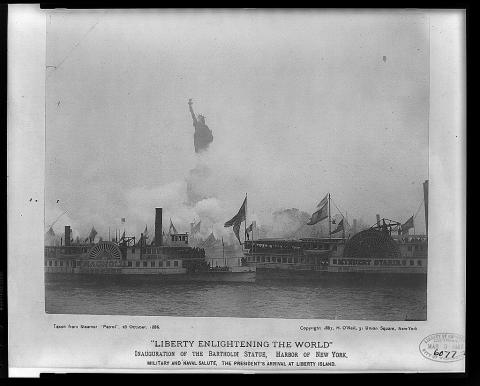 Statue of Liberty - Its Inauguration Visual Arts American History Famous Historical Events Social Studies Nineteenth Century Life