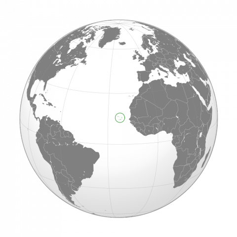 Map Depicting Location of Cape Verde Islands Social Studies STEM Tragedies and Triumphs Geography