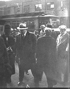 Capone on the Street - Photo American History Legends and Legendary People Social Studies Tragedies and Triumphs