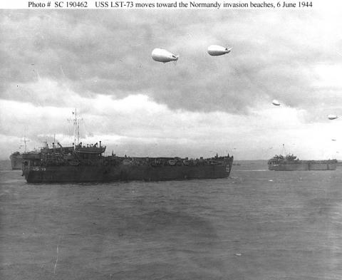 Troop Ships En route to Normandy Famous Historical Events Visual Arts World War II Tragedies and Triumphs