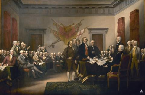 The Second Continental Congress Visual Arts American Revolution Famous Historical Events Government Law and Politics Social Studies American History