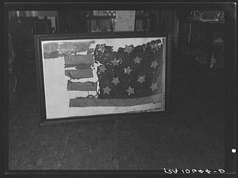 Tattered Flag from the Battle of Stony Point