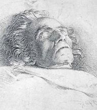 Beethoven After Death - Danhauser Drawing