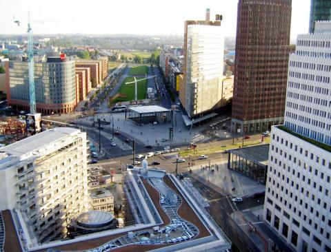Potsdamer Platz Geography Social Studies Visual Arts World History