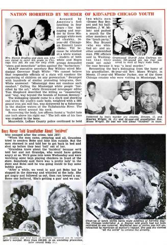 Jet Magazine - Story about Emmett Till - Preview Image