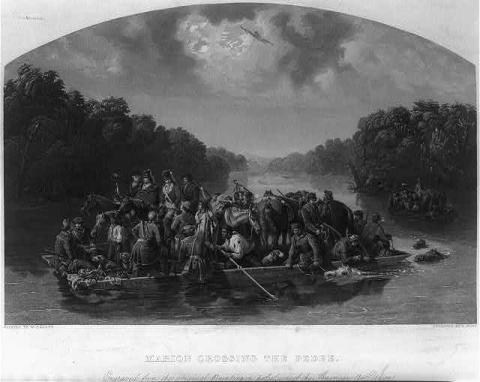 The Swamp Fox and His Band of Irregulars
