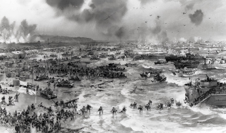 "the allied invasion of omaha beach during world war ii Prelude to invasion the national d-day memorial ""a must visit for anyone interested in world war ii or american military history."