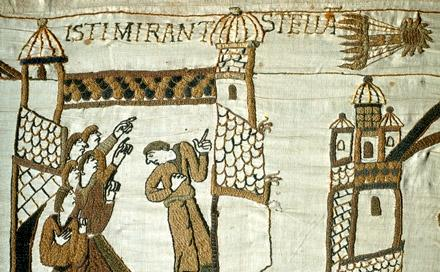 Bayeux Tapestry - Isti Mirant Stella, Close Up World History Famous Historical Events History Social Studies