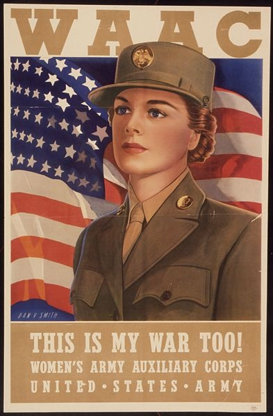 Mercedes Des Moines >> Women's Army Auxiliary Corps - WAAC