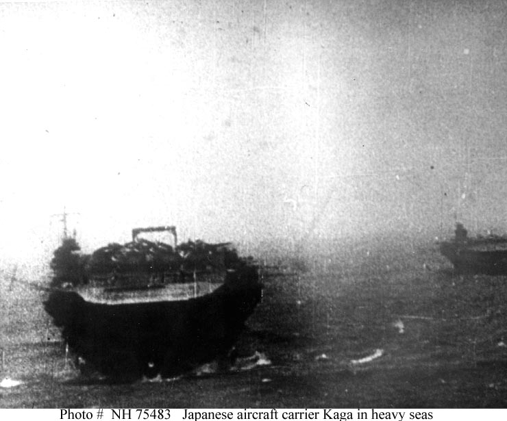 Japanese Aircraft Carrier - En route to Pearl Harbor