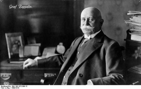 Ferdinand von Zeppelin - Inventor of Rigid Airships Famous People STEM World History Biographies