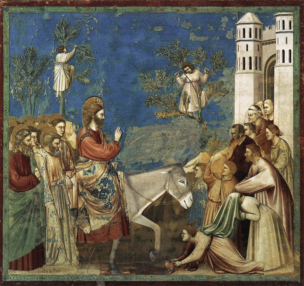 Entry into Jerusalem - Giotto di Bondone - Preview ImageGiotto Di Bondone Frescoes