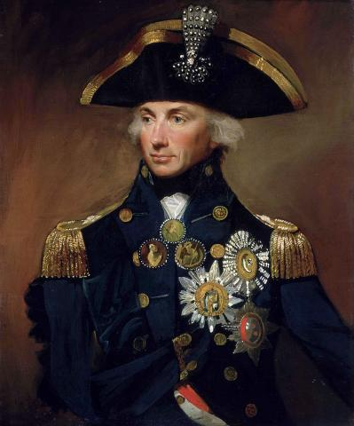 Horatio Nelson - Britain's National Hero (Illustration) Famous People Legends and Legendary People Visual Arts World History Tragedies and Triumphs