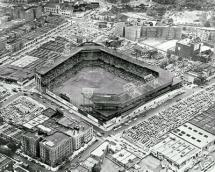 Aerial View of Ebbets Field