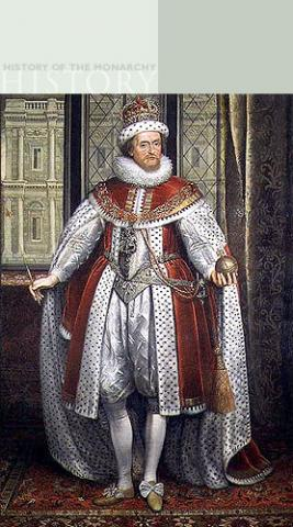 King James I (Britain) and VI (Scotland) Famous People History Law and Politics World History Visual Arts