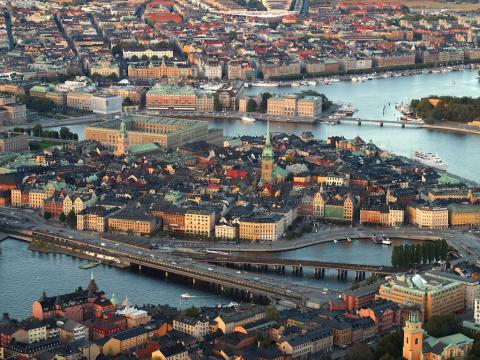 Stockholm Sweden's Capital and Its Fourteen Islands