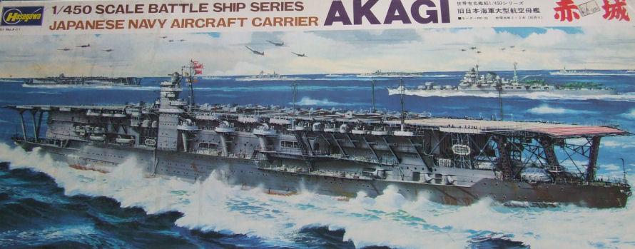 Akagi - Flagship of Japan's First Air Fleet