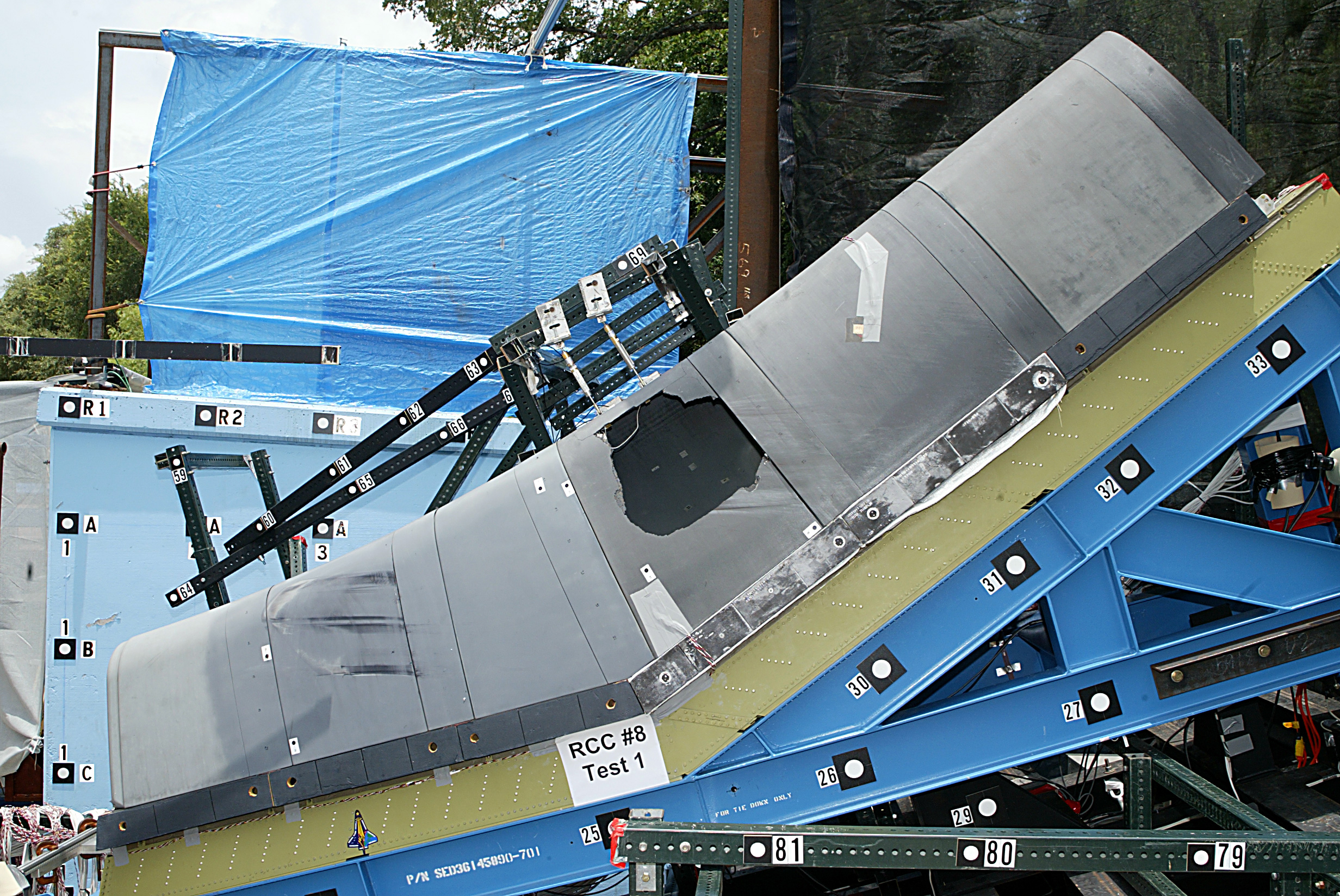 space shuttle top wing - photo #9