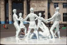 Children's Dance Fountain - Barmaley Fountain in Volgograd