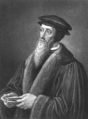 John Calvin Famous People Visual Arts Philosophy Tragedies and Triumphs
