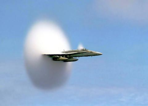 THE SOUND BARRIER (Illustration) American History Famous Historical Events Famous People STEM Tragedies and Triumphs Aviation & Space Exploration
