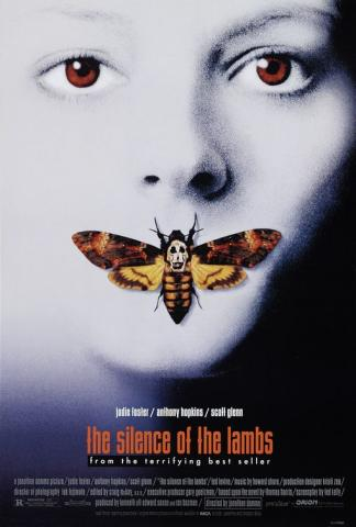The Silence of the Lambs - Movie Poster American History Biographies Film History Social Studies Trials Disasters